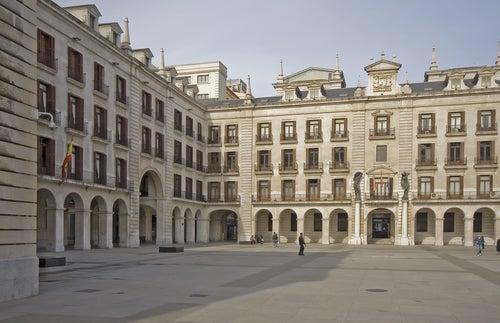 Plaza Porticda de Santander