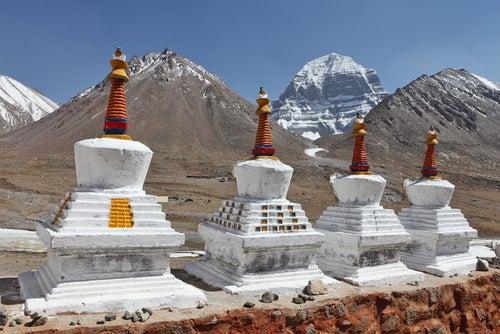 Monte Kailash en el Tibet