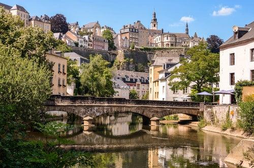 Recorremos la bella capital de Luxemburgo