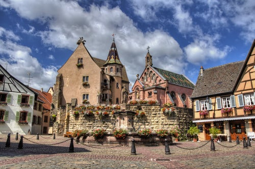 Eguisheim en Francia, un pueblo de cuento