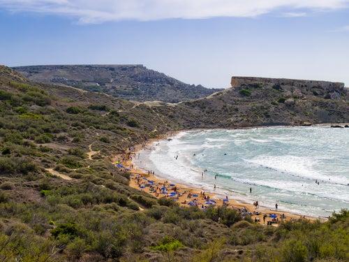 Ghajn Tuffieha en Malta