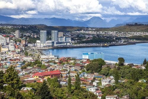 Puerto Montt en Chile