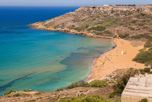 Ramla Bay en Malta