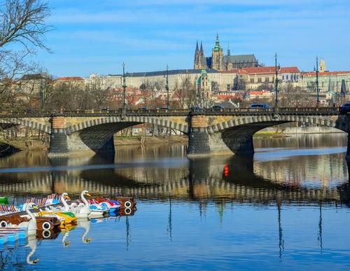 Puente de las Legiones en Praga