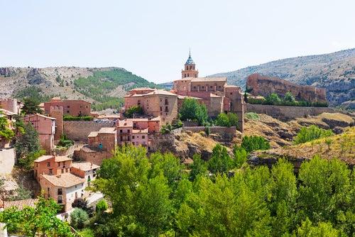 Albarracín en Teruel, uno de los pueblos más bonitos de España