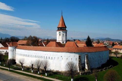 Prejmer en Rumanía