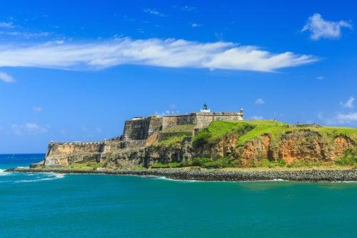 Castillo de San Felipe en el Viejo San Juan