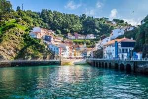 Cudillero en el Principado de Asturias