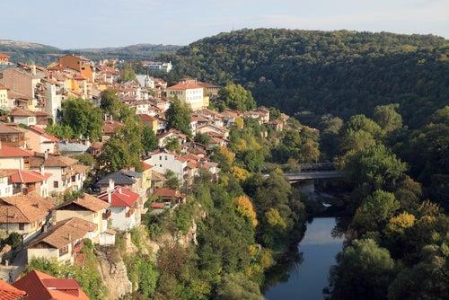 Veliko Tarnovo en Bulgaria