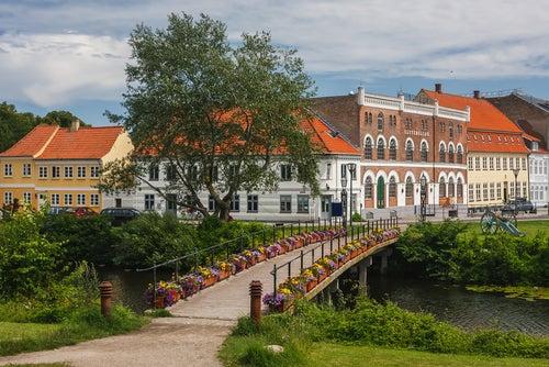 Nyborg en Dinamarca