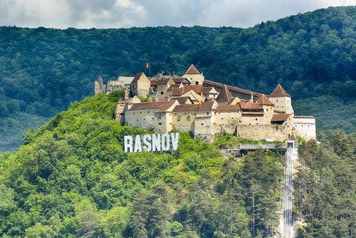 Castillo de Rasnov en Rumanía