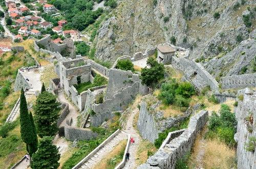 Fortaleza de San Iván en Kotor