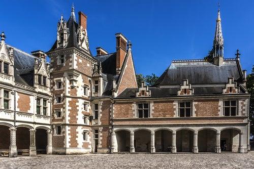 Castillo de Blois en Loira