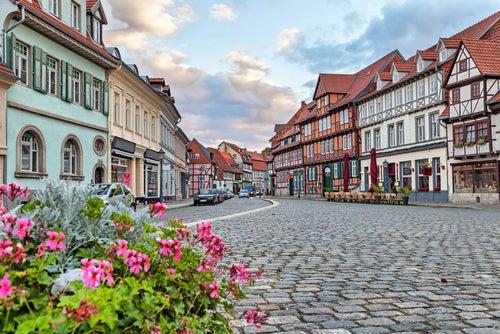 Casas típicas de Quedlinburg