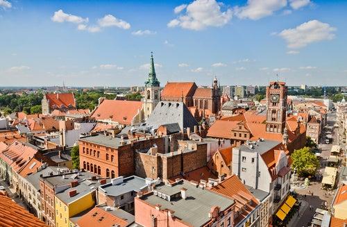 Torun, una ciudad maravillosa en Polonia