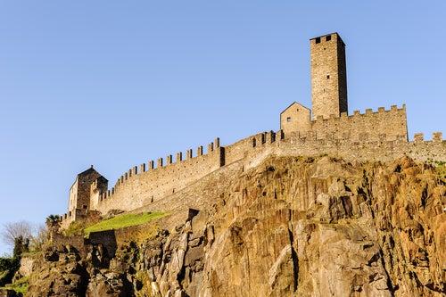 Castelgrande en Bellinzona