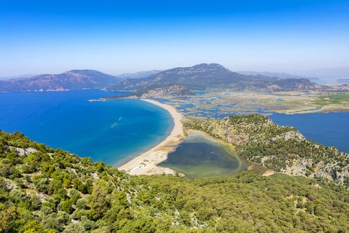 Playa Iztuzu en Turquía