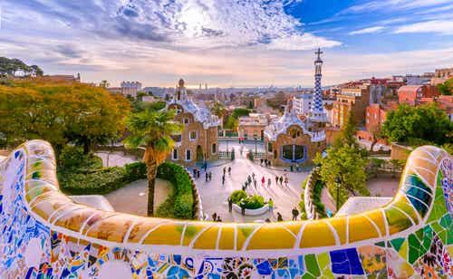 El Parque Güell en Barcelona, un rincón mágico