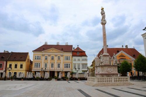 Gyor en Hungría