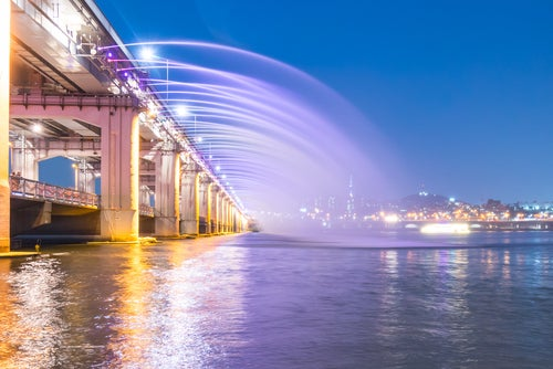Puente Banpo en Seúl