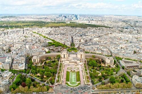 Vista deParís desde la Torre Eiffel