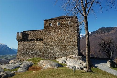 Castillo Sasso Corbaro en Bellinzona