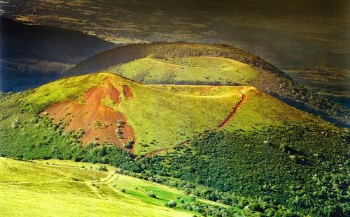 Volcanes en Auvernia