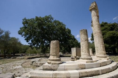 Philippeion en Olimpia