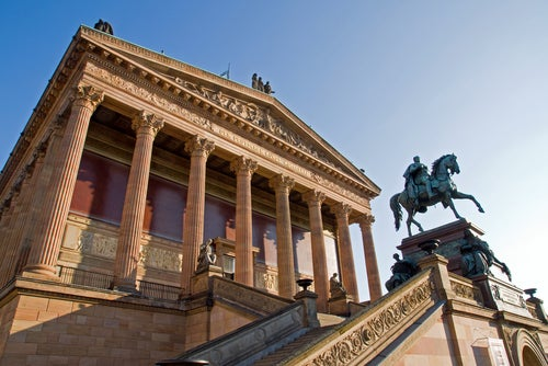 Antigua Galería Nacional en Berlín
