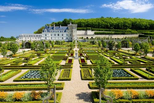 Castillo Villandry en Loira
