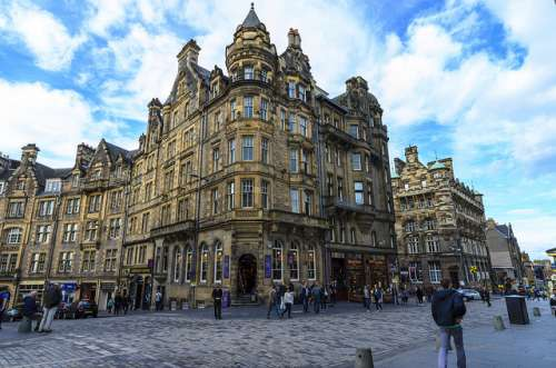 Paseamos por el barrio de Old Town de Edimburgo