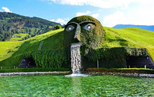 Wattens en Austria, un reino de cristal