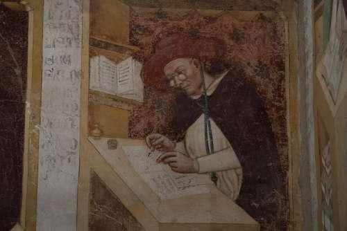 Fresco en la iglesia de San Nicolás de Treviso