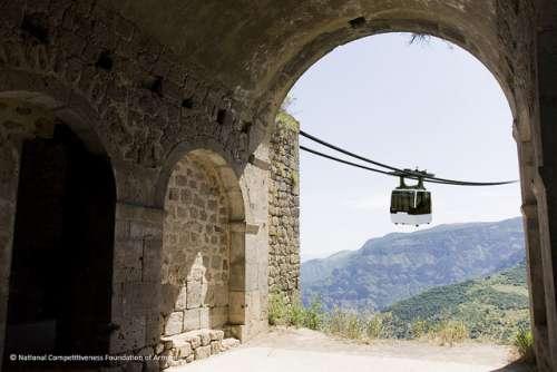 Teleférico de Tatev, Armenia