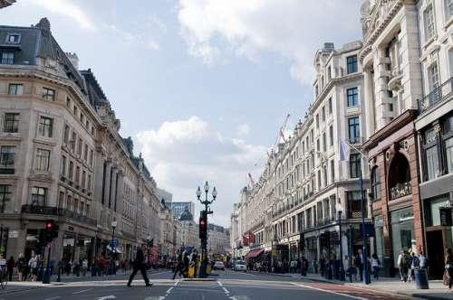 Regent Street en Londres