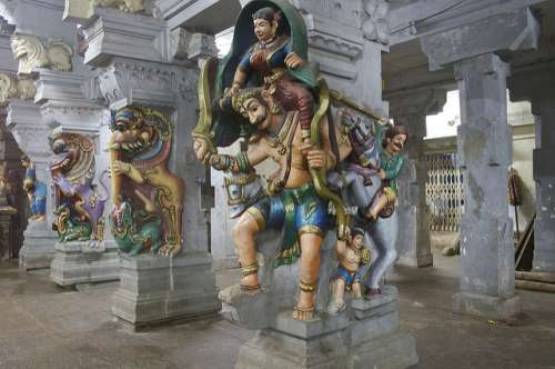 Rameshwaram en la India