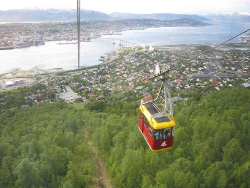 Fjellheisen en Noruega