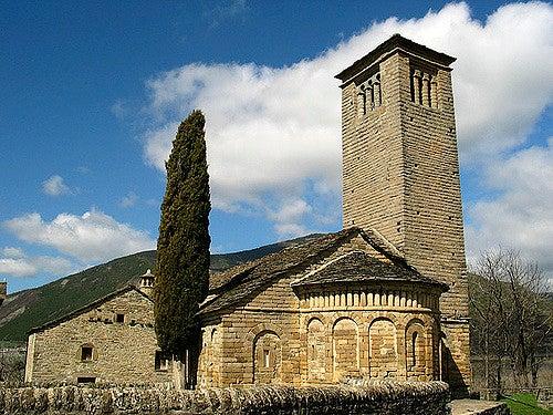 San Pedro de Lárrede en el Serrablo