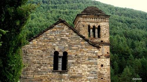 San Bartolomé de Gavín en el Serrablo