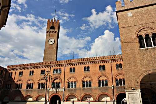 plaza de los Señores de Treviso