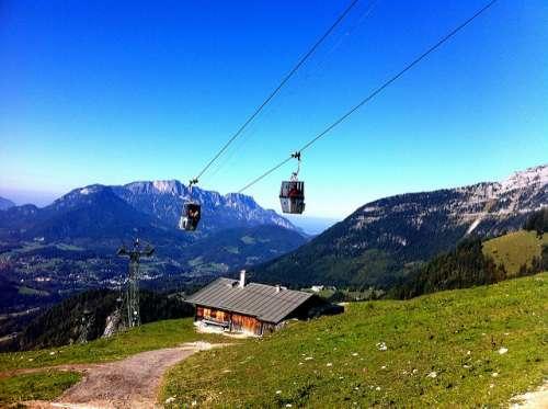 Teleférico del Monte Jenner en Alemania
