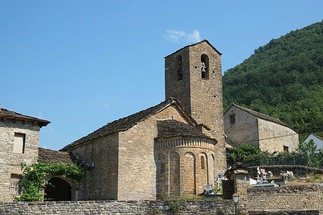 San Martín de Oliván en el Serrablo