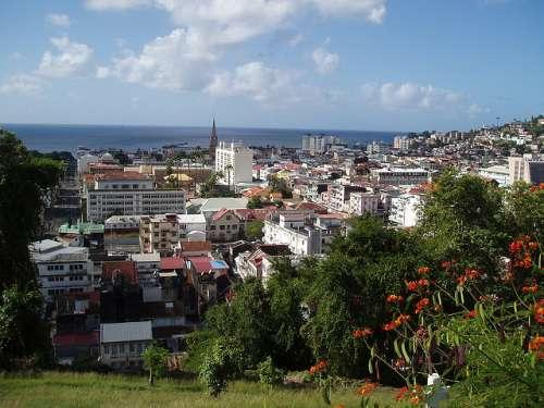 Fort de France en Martinica