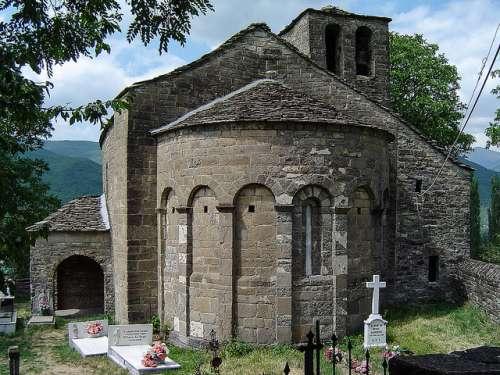Santa Eulalia de Oros Bajo en le Serrablo