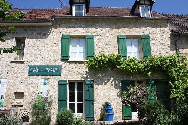 Museo de la Absenta en Auviers-sur-Oise