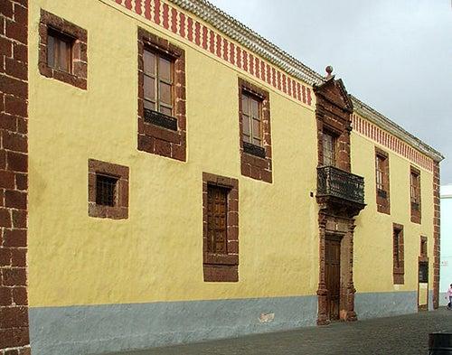 Casa de los Capitanes en La Laguna