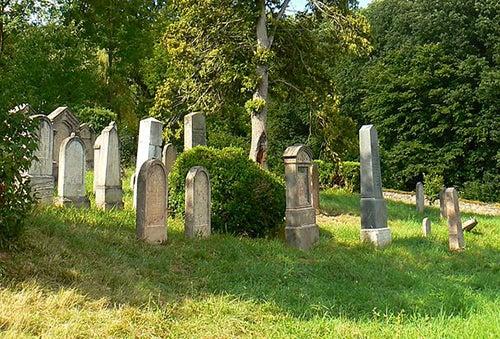 Cementerio judio de Morina