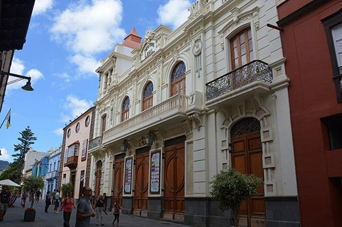 Teatro de La Laguna en Tenerife