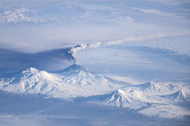 Volcán Kliuchevskoi en Kronotsky