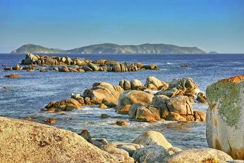 Isla de Ons en Galicia